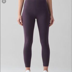 RARE Align Pant Black Currant Size 4 ❗️FIRM❗️